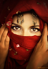 My own version of the Afghan Girl