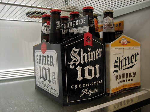 The Shiner Family Fridge