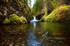 Clear Waters (Jinna van Ringen) Tags: oregon falls pacificnorthwest eaglecreek punchbowlfalls chanderjagernath jagernath jagernathhaarlem