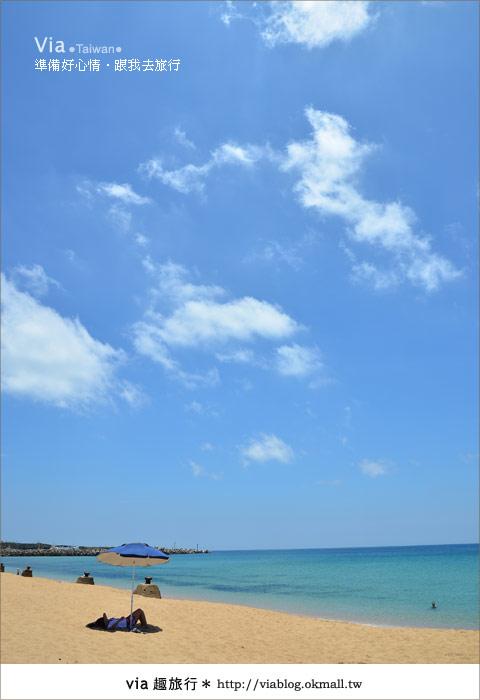 【澎湖沙灘】山水沙灘,遇到菊島的夢幻海灘!20