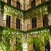 Fancy Hotel with Fancy Greenery