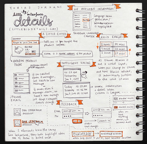 Tobias Jordans: Little Big Details @ UX Camp Europe 2011