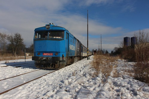 749 262-2 Vilemov U Kadane, NFP Railtour