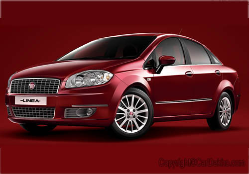 Fiat Linea Price. Fiat Linea front side view