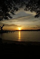 Sunset 01 (~ kokstang) Tags: sunset car train traditional cable hanging lama penang langkawi brigde rumah bukit tradisional bendera helang mahsuri