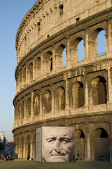 Coliseu / Colosseo / Colosseum (Davisom Trevizan) Tags: voyage trip viaje vacation italy rome roma vacances nikon europa europe italia honeymoon urlaub frias colosseum viagem coliseum rom vacaciones viaggio vacanza itlia reise lunademiel colosseo coliseu colise luademel lunadimiele lunedemiel  flitterwochen eurooppa   d80 18135mm   italiem davisom davisomtrevizan davisomluiztrevizan