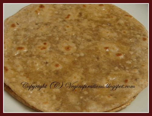 ... and Method to make Oat Barley Wheat Roti (Indian Flat Bread