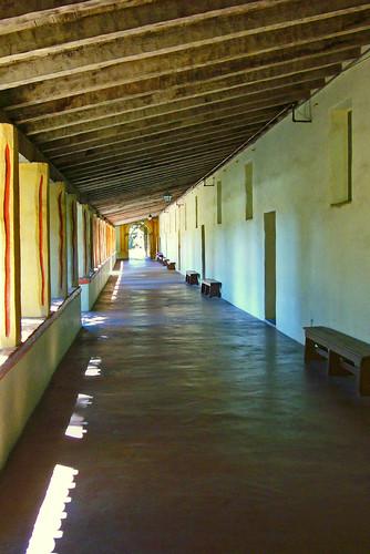 Carmel Mission School Portico