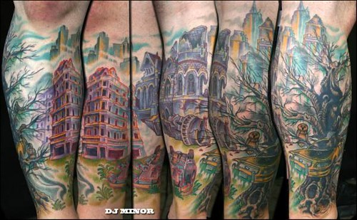 DJ Minor Reno Tattoo CO 143 N Virgina ST Reno, NV 89501. WWW.775TATTOO.COM