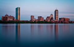 Six (chris lazzery) Tags: longexposure boston skyline cityscape massachusetts charlesriver 5d hancock prudential canonef1740mmf4l bw30nd