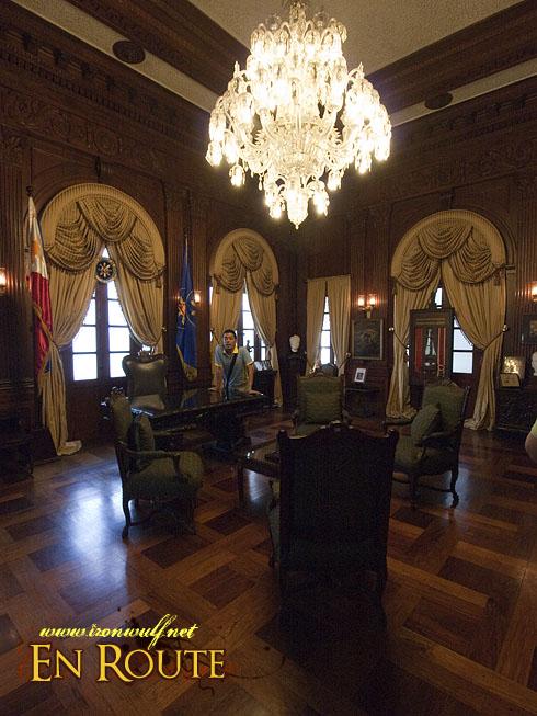 Malacanang Palace Presidential Room