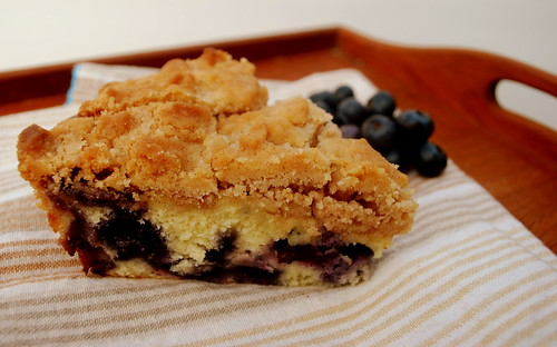 Blueberry Coffee Cake on tray2