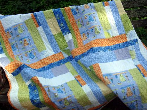 coat rack quilt