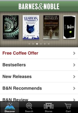 Barnes & Noble iPhone app