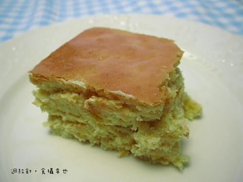 台中日出熱帶鳳梨起司蛋糕