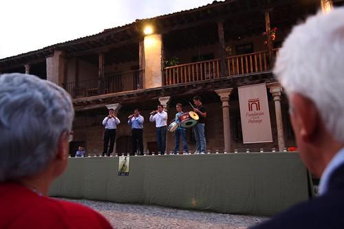 Dulzaineros en la Plaza Mayor