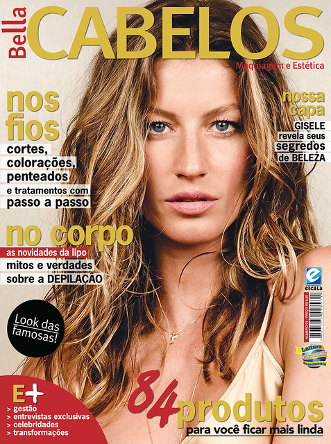 Gisele Bundchen by Homero Letonai