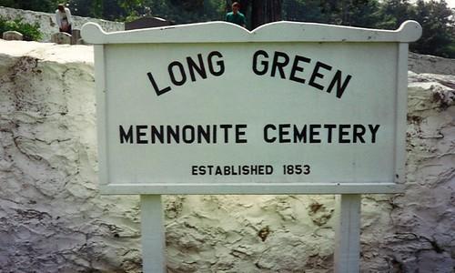 Long Green Mennonite Cemetary