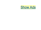 """Hide These Ads"" Google AdSense"