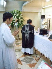 Requiem Mass Celebrated by Fr. Michell Joe B. Zerrudo (dennis_raymondm32) Tags: philippines mass requiem tridentine