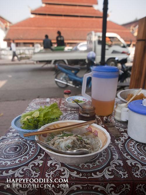 Luang Prabang Breakfast Noodles