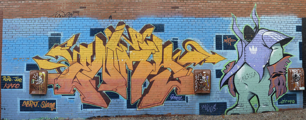 Check out street art in Indianapolis (image from obakadan)