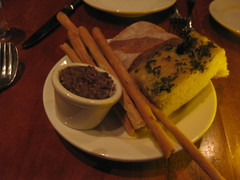 Incanto in San Francisco - Bread selection with olive tapenade