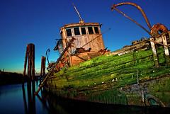 Old Boat (Grace Alone) Tags: old sunset oregon boat goldbeach marydhume platinumpeaceaward