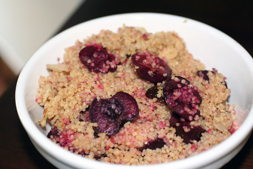 finished bowl cherry couscous