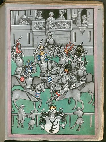 Ludwig von Eyb - Turnierbuch