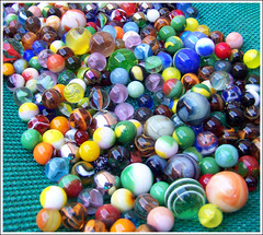 Marble  Stream (Bob the Real Deal) Tags: game glass colors stream colours play kodak collection marbles marble the60s the50s wheniwasyoung the40s ilostmymarbles playmarbles letsplaymarbles