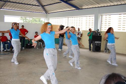 Grupo de danza moderna Las Mariposa, Rafey Mujeres