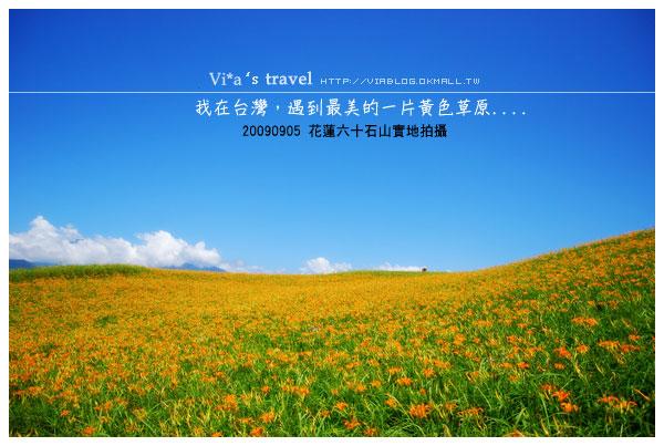 【台東旅遊行程】via的東部忘憂之旅~花東四日遊行程