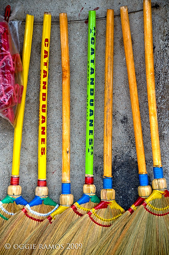 Catanduanes Baras Colorful Brooms