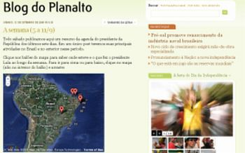 Blog do Planalto - Home Page