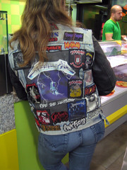 IMG_2991 (albyantoniazzi) Tags: metal pinkfloyd jeans jacket metallica kebab blacksabbath logos ironmaiden obituary defleppard saxons