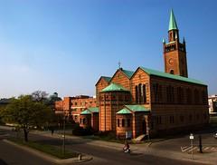 church+bike (Srgiot) Tags: travel berlin church biker k100d