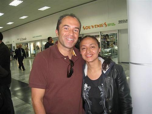 Leonel and Sandra