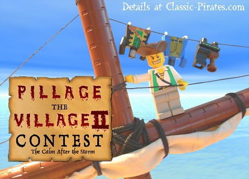 LEGO Pillage the Village contest