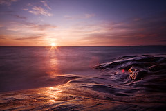 Flourishing Sunset (finprkl) Tags: longexposure sunset beach water colors espoo flow sigma1020mm naturesfinest nd400 kirkkonummi porkkala porkkalanniemi