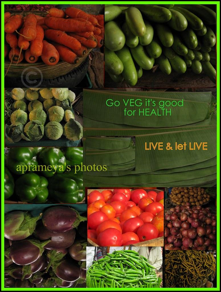 Vegetarianism-GO VEG IT's  GOOD FOR HEALTH