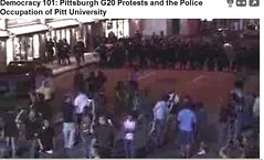 screenshot G20 Pittsburgh Police