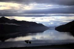 Loch Long, 1971 (Wider World) Tags: sky cloud mountains reflection scotland still calm westcoast arrochar lochlong ardgarten