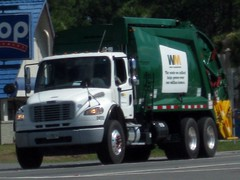 WM Freightliner M2 106 / McNeilus REL (FormerWMDriver) Tags: trash truck garbage wm management rubbish waste refuse m2 inc sanitation rel freightliner dustcart mcneilus