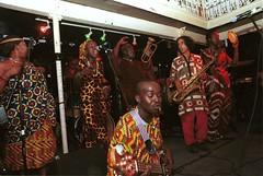 Mac Tontoh Project from Ghana at the Africa Centre London July 2001 064 band-ok (photographer695) Tags: world africa from 2001 music london mac african centre band july jazz ghana warriors ashanti kete trumpeter amanas osibisa tontoh nanaeba exosibisa