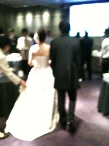 結婚パーティーなう