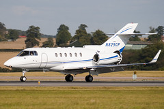 N825CP - 258329 - Private - Raytheon Hawker 800XP2 - Luton - 091008 - Steven Gray - IMG_0139