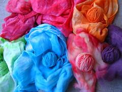 Kool-Aid Dyeing