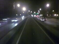 La salida de la carretera