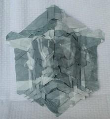 Joelmask2 (somzsu) Tags: paper origami mask joel cooper tessellation